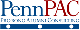 PennPAC – Penn Probono Alumni Consulting Logo