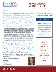 PennPAC Annual Report